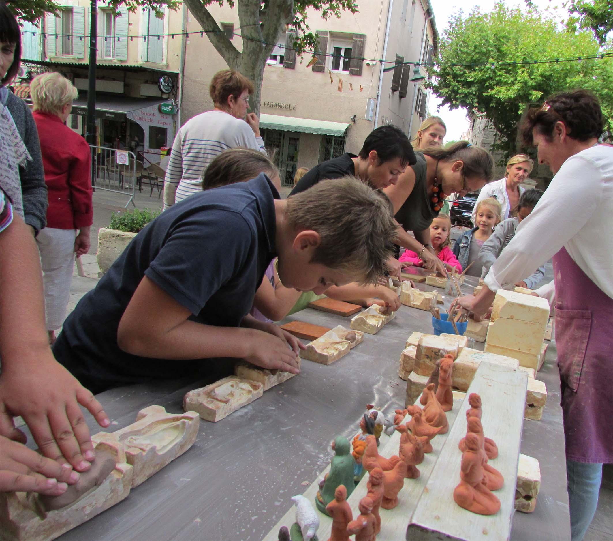 « Ateliers d'été » à Barbentane