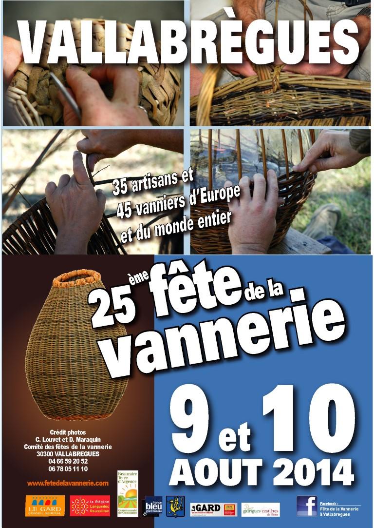 Fête de la vannerie à Vallabrègues (Gard)