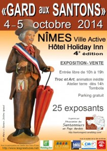 Affiche 2014 expo Nimes