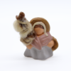 Fileuse et sa quenouille produit santons