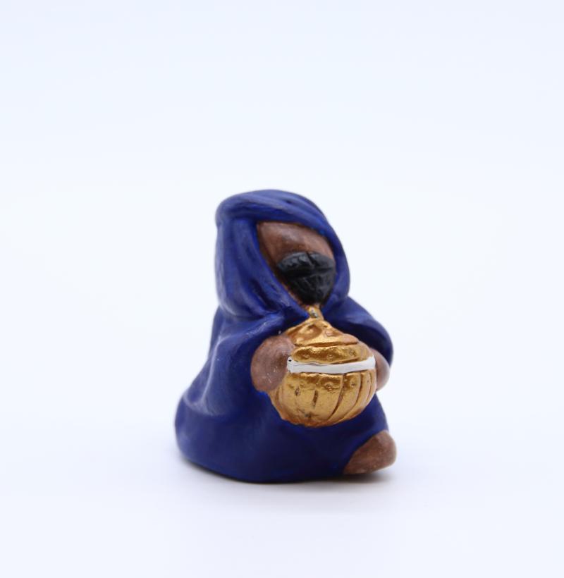Roi noir bleu hoggar produit nativités