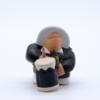 Tambourinaire et son tambour noir produit santons