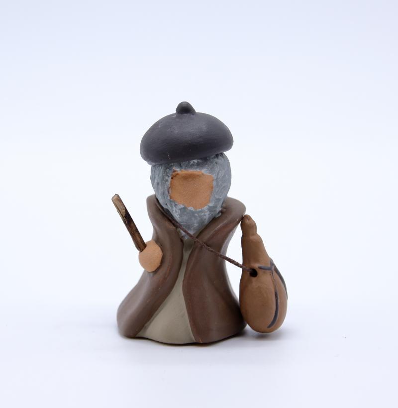 Vieux berger et sa gourde produit santons