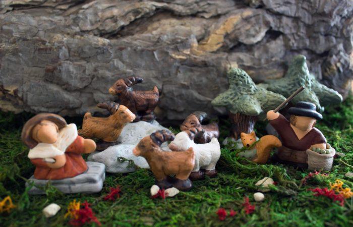 La collection - scènes - 6 Manon, ses chèvres et les olivades