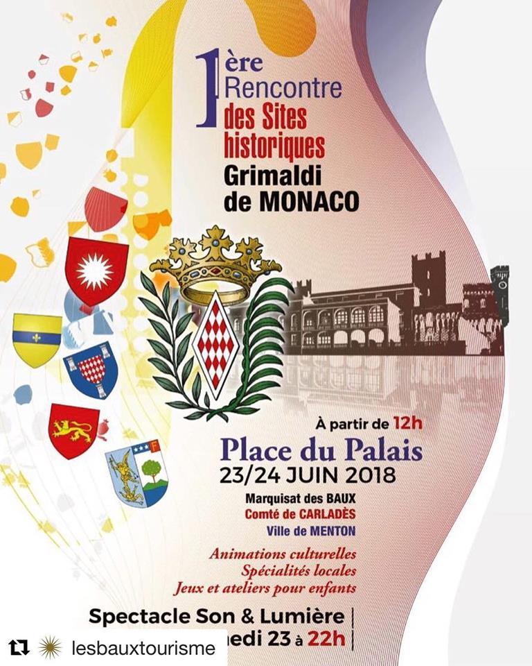 Exposition place du Palais Princier à Monaco – 2018