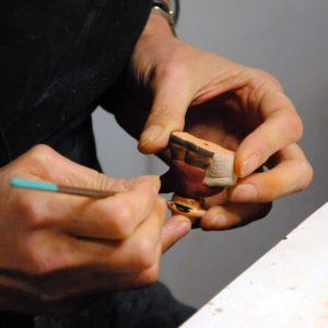 la fabrication - carré 7 peindre