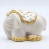Elepant Blanc Tapis Profil Produit Collection Blanche Et Or