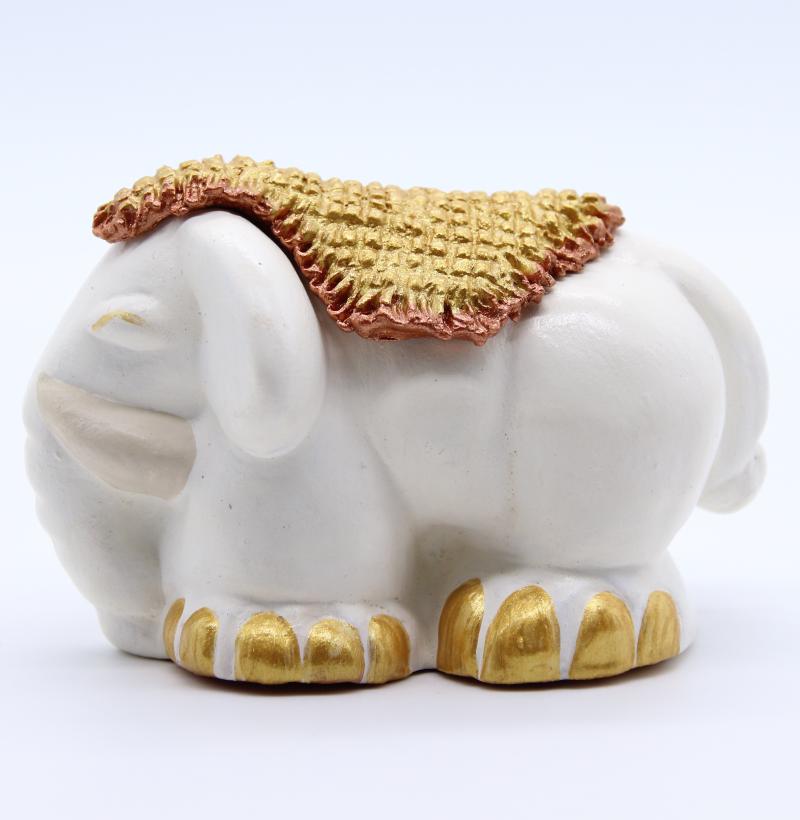 Elephant tapis blanc produit collection blanche