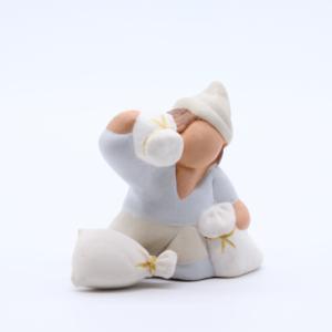 Meunier et son sac de farine – collection blanche