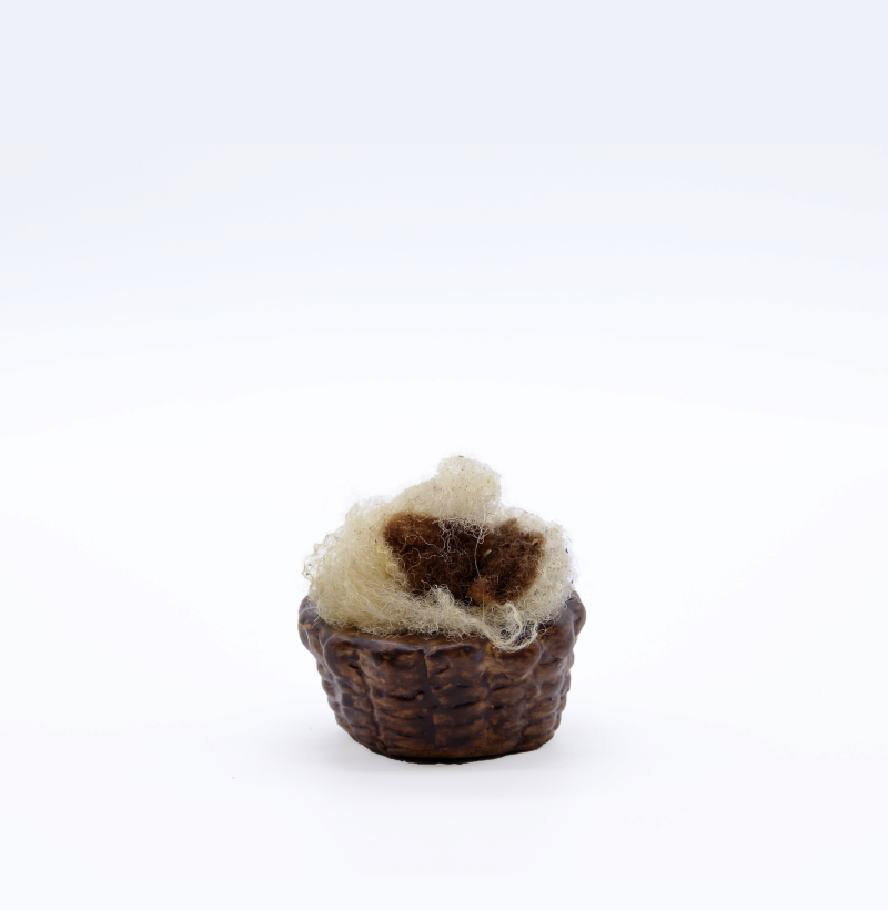 Panier de laine grand modèle produit accessoires