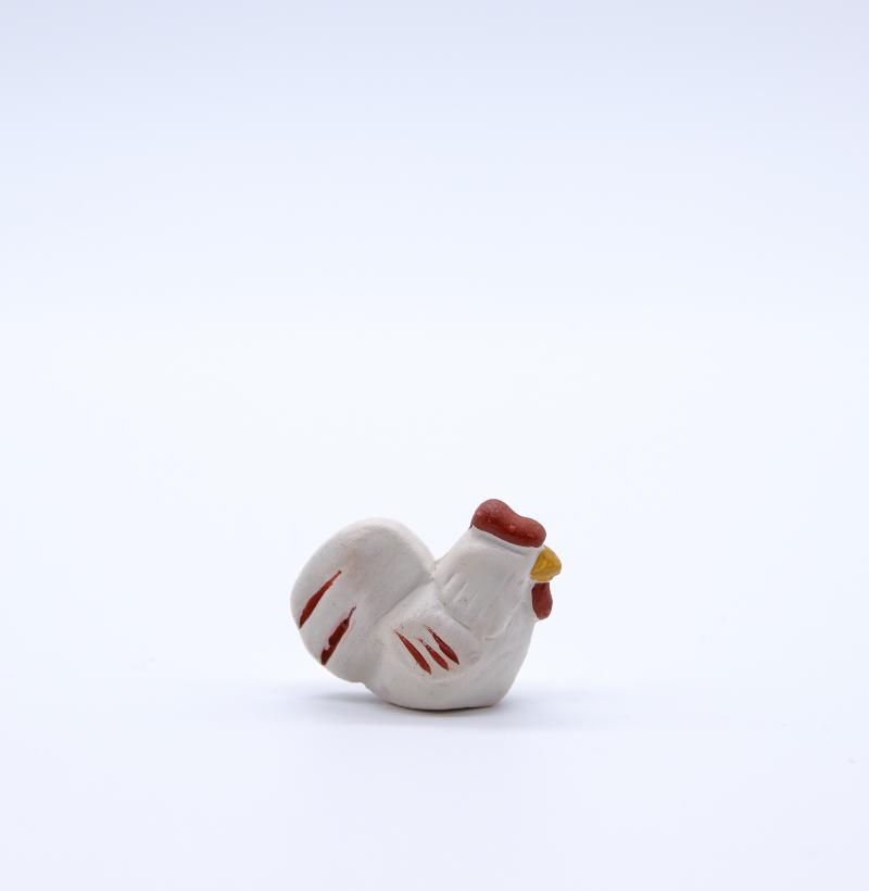 coq blanc produit petits animaux