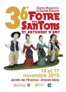 « Salon des santonniers » à Saint Maximin la Sainte Baume (Var) – 2019