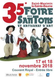 « Salon des santonniers » à Saint Maximin la Sainte Baume (Var) – 2018