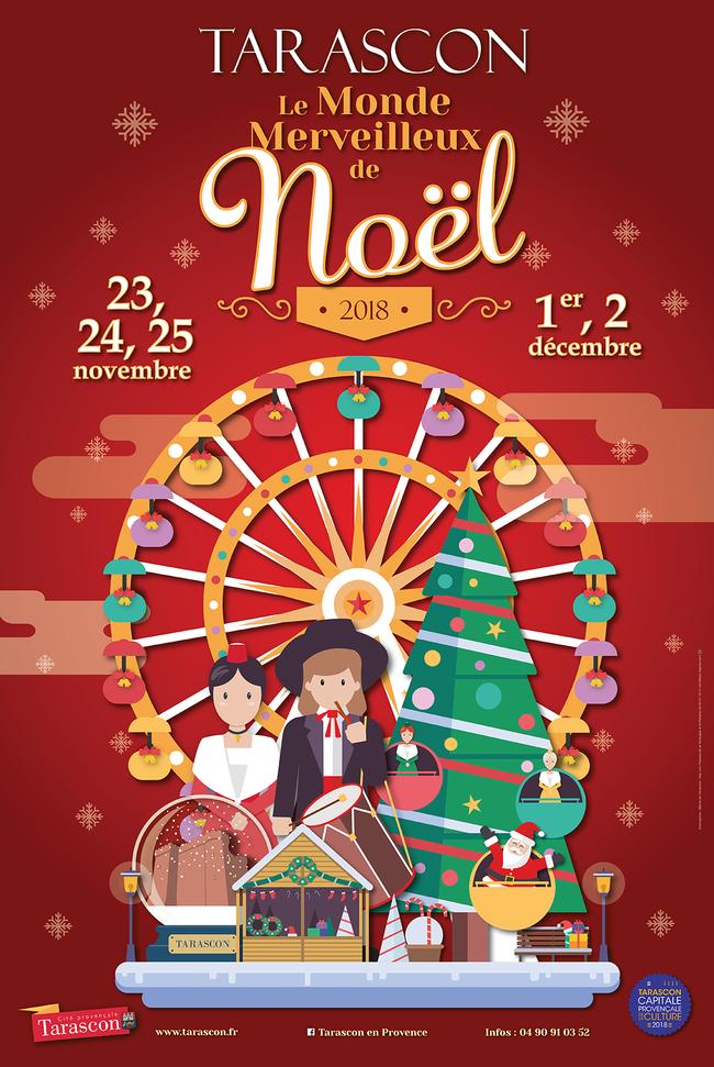 «Marché de Noel» de Tarascon