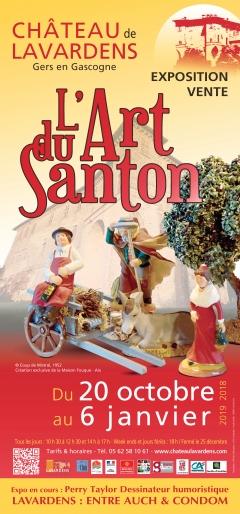 «L'art du santon» à Lavardens (Gers)