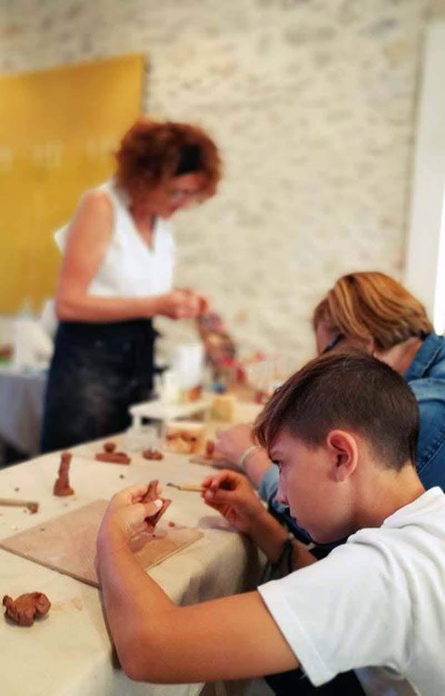 « Le petit marché des santonniers » aux Baux de Provence
