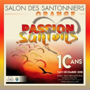Salon des santonniers à Orange