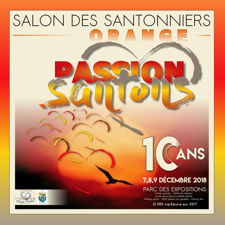 Salon des santonniers à Orange