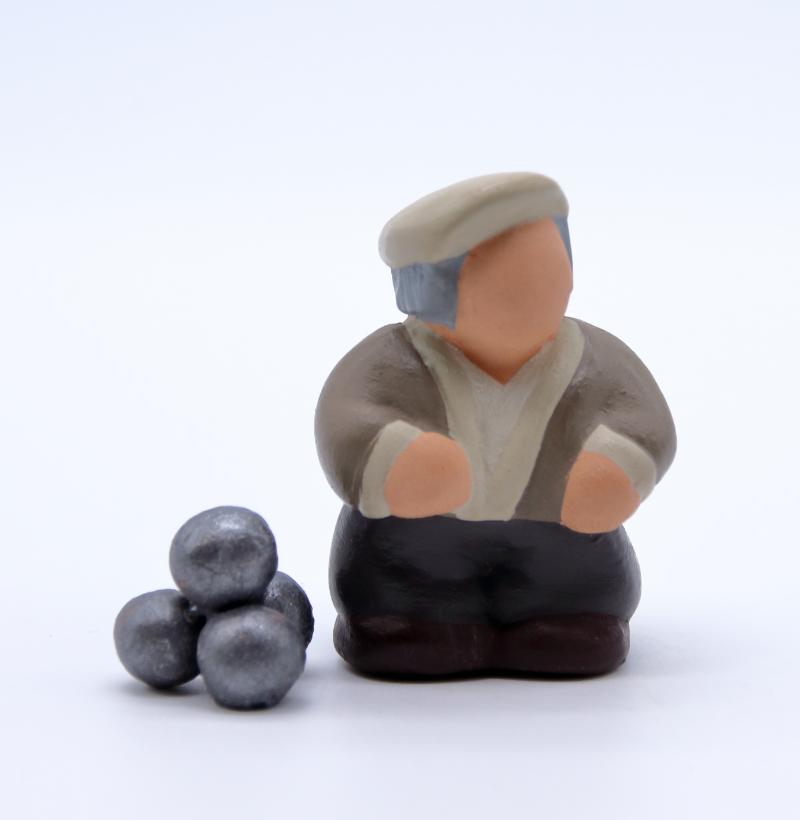 NOUVEAUTE Papé et ses boules produit santons