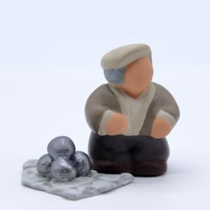 Papé et ses boules