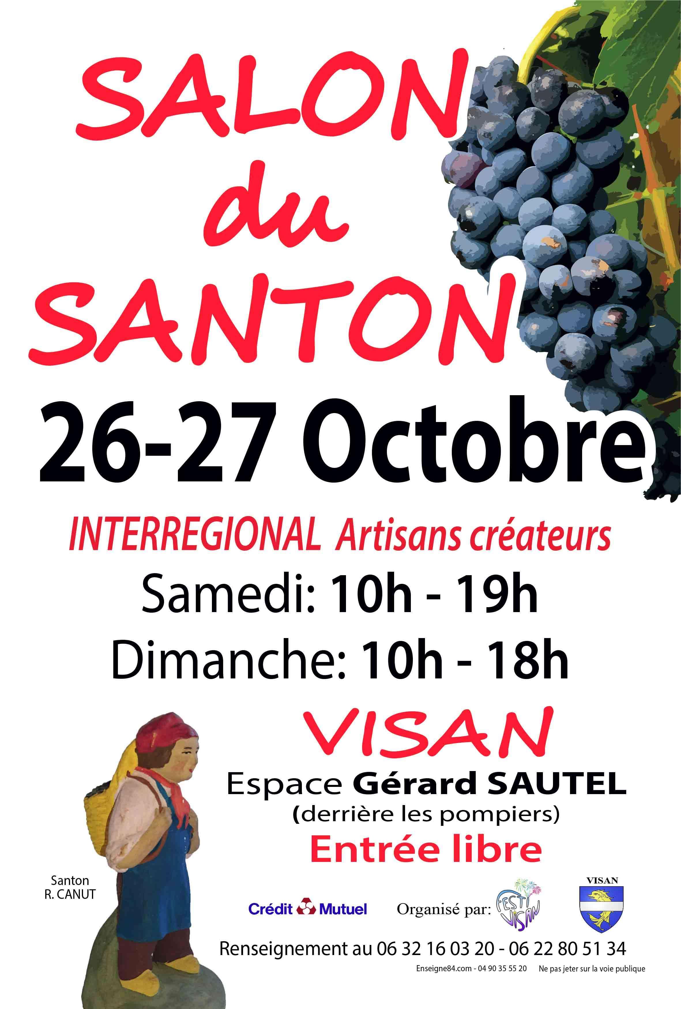 Salon du santon – Visan (84) – 2019
