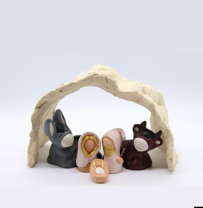 Voute gres du Tenere avec nativité produit étables