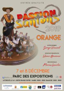 Salon des santonniers à Orange (84) – 2019