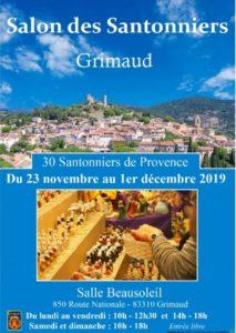 Foire aux santons à Grimaud (83)