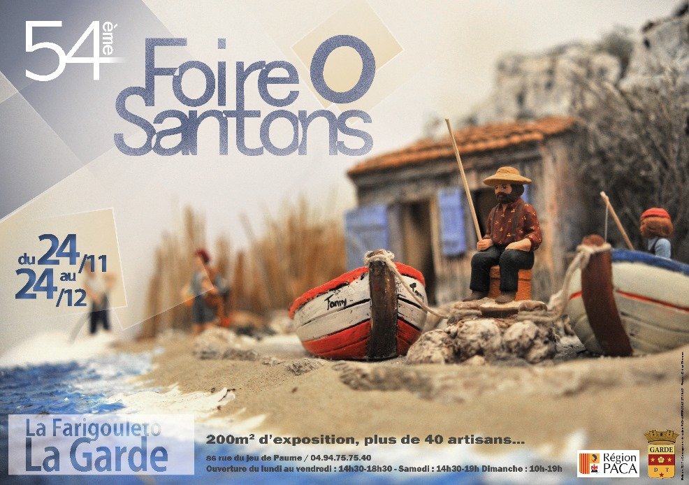 « Foire aux santons » à La Garde 2019