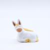 Ane de creche produit creches miniatures blanches