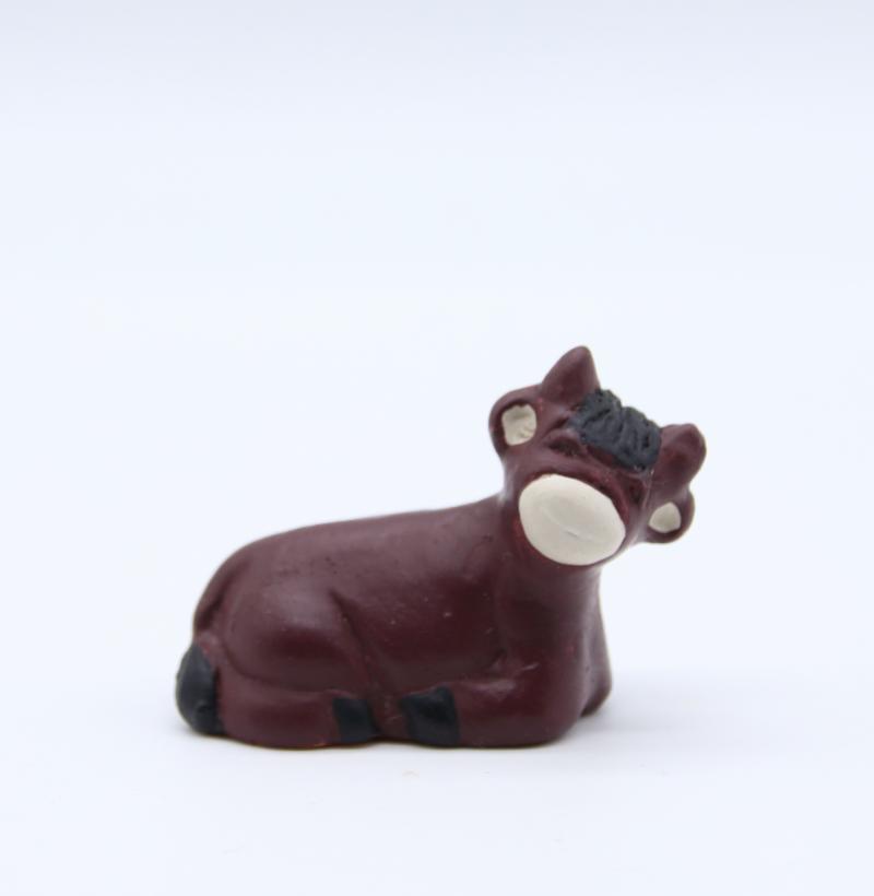 Boeuf de creche produit creche miniature couleur