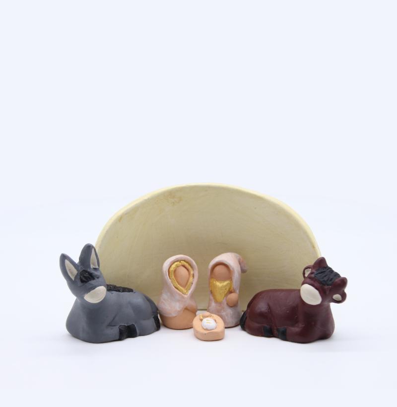 Etable Vanille + Nativité Produit Etables Miniatures