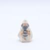 Roi vieux produit creches miniatures blanches