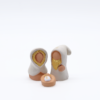 Sainte Famille Blanche Produit Creche Miniature Collection Blanche
