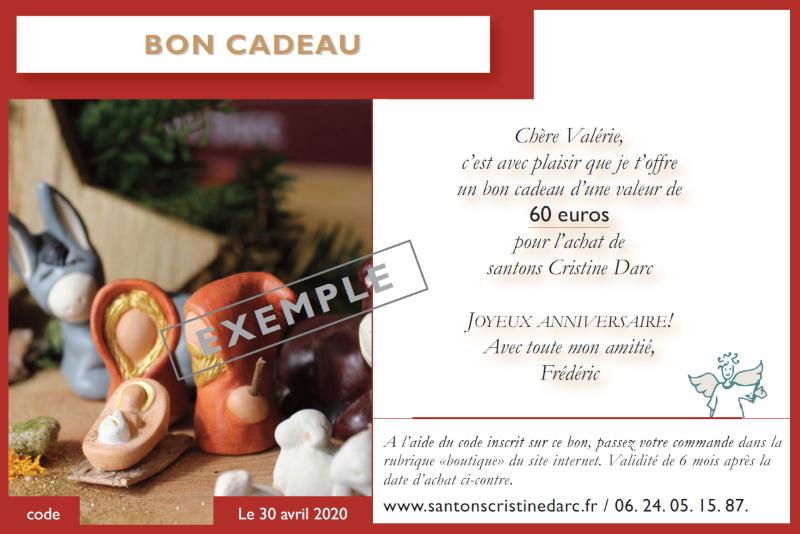 Bon Cadeau Santons Rouge Page 1