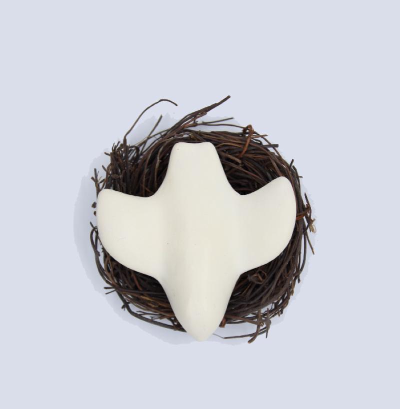 Colombes nid vue dessus produit autres creations