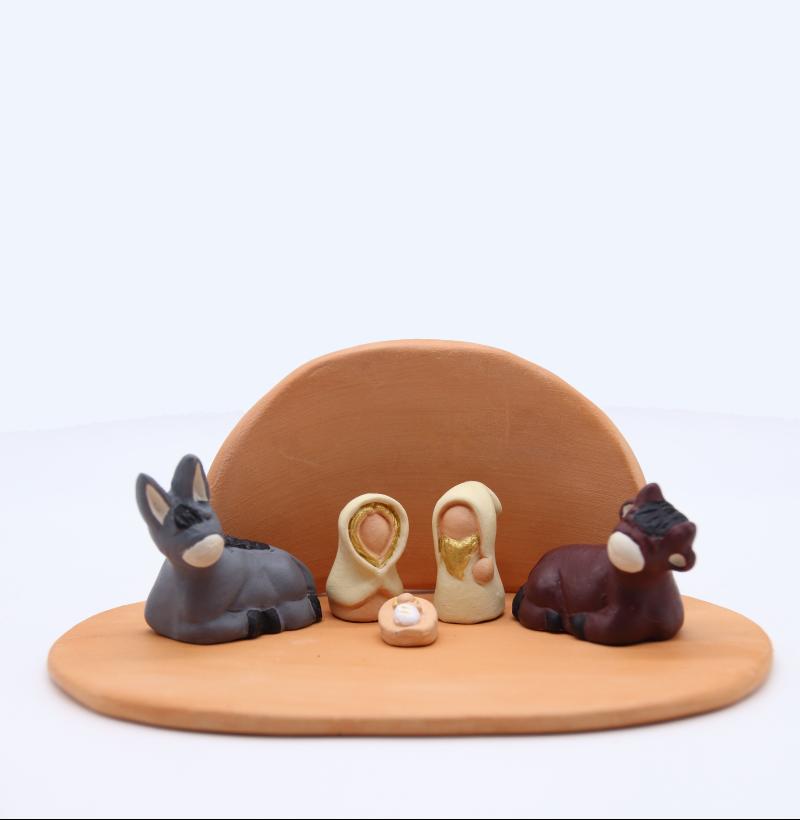 Plaque Et Abri Bruts + Nativité Produit Etables Petites Creches