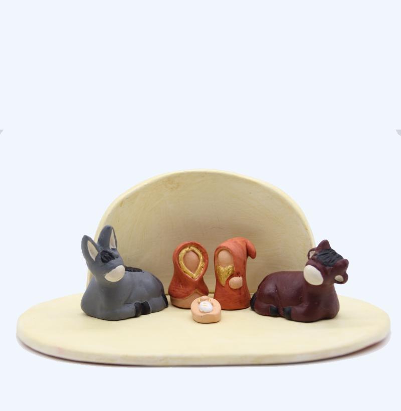 Plaque Et Abris Vanille + Nativité Produit éables Miniatures