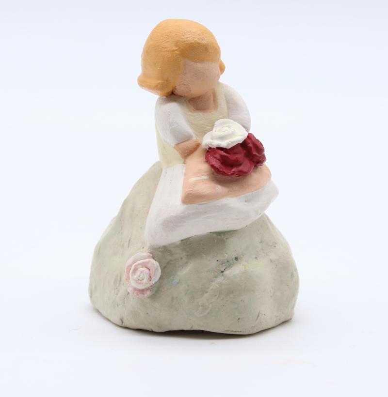 2melodie Fleurs Rouges Profil Produit Santons Nouveautés