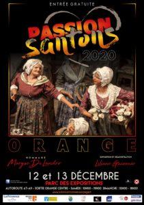 Salon des santonniers à Orange (84) – 2020