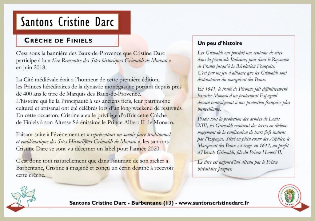 Crèche De Finiels Et Monaco