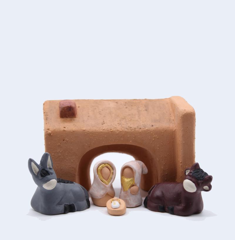 Etable Avec Nativité Produit Etables Miniature