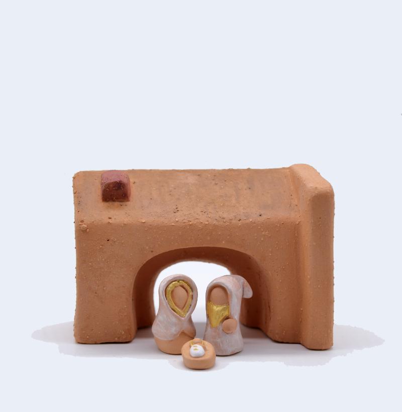 Etable Avec Sainte Famille Produit Etables Miniatures