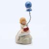 1melodie Fleur Rouges Ballon Bleu Produit Santons Nouveautés