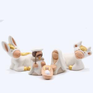 Nativité classique – Collection blanche