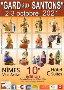 """Read more about the article """"Gard aux santons"""" – Nimes – 2021"""