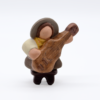 Guitariste Et Son Tabouret Produit Santons Nouveautés