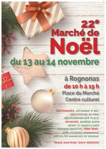 Read more about the article Marché de noel de Rognonas 2021